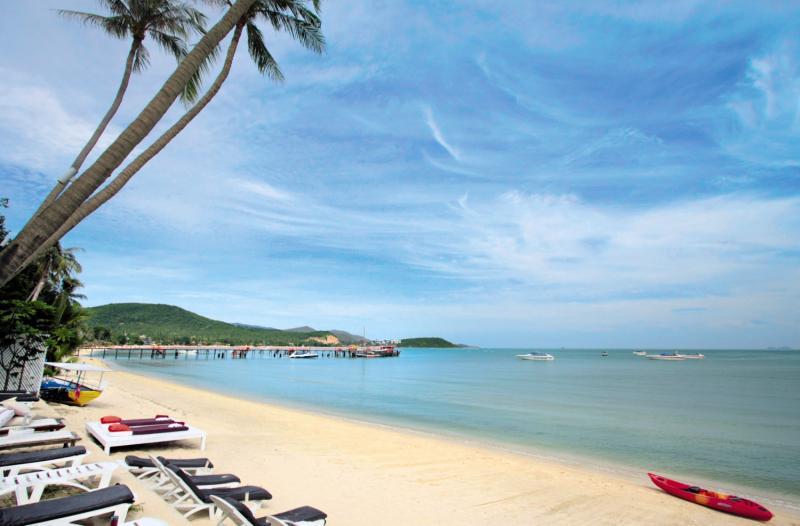 Punnpreeda Beach Resort Samui Strand