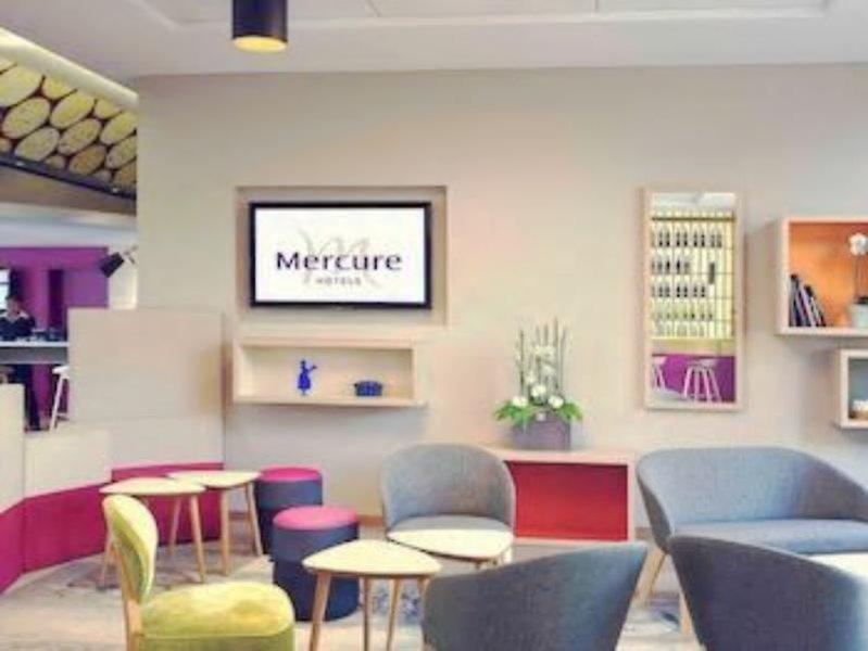 Mercure Colmar Centre Unterlinden Lounge/Empfang