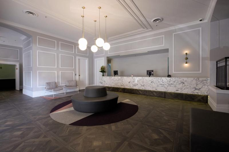 The Ultimo Lounge/Empfang