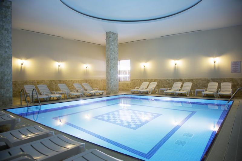 Merve Sun Hotel & Spa Hallenbad