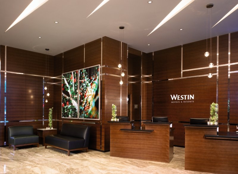 The Westin Wall Center Vancouver Airport Lounge/Empfang