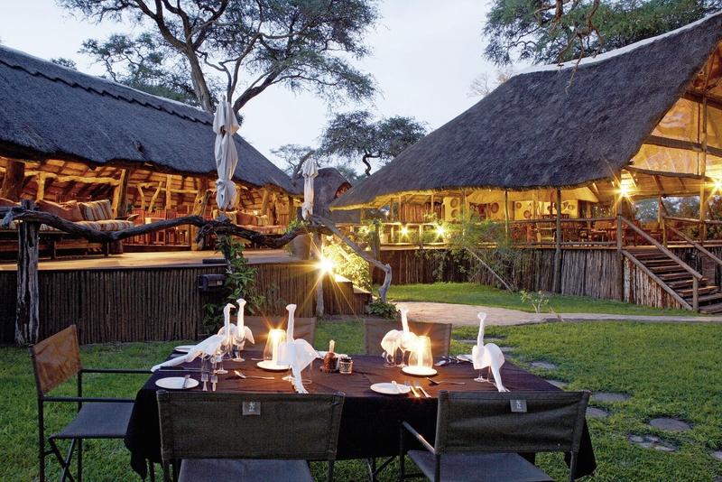Elephant Valley Lodge Terrasse