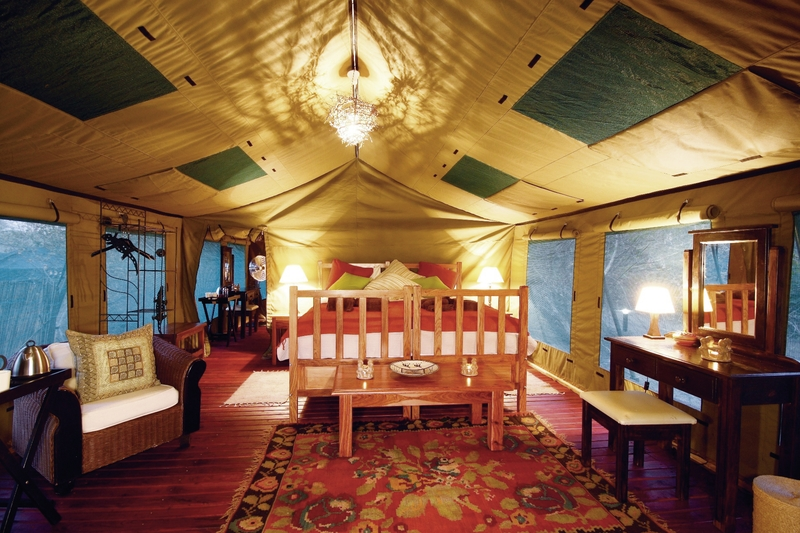 Elephant Valley Lodge Lounge/Empfang