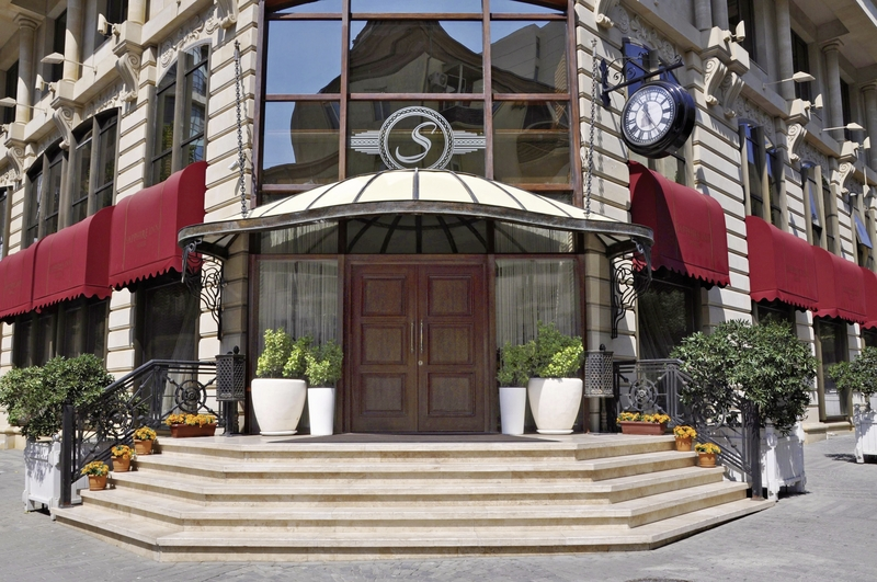 Sapphire Inn Terrasse