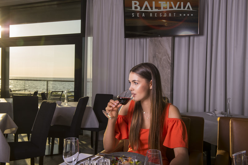 Baltivia Sea Resort Personen