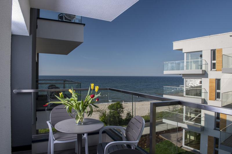 Baltivia Sea Resort Terrasse