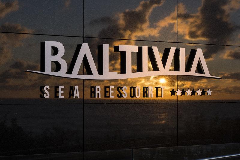 Baltivia Sea Resort Außenaufnahme