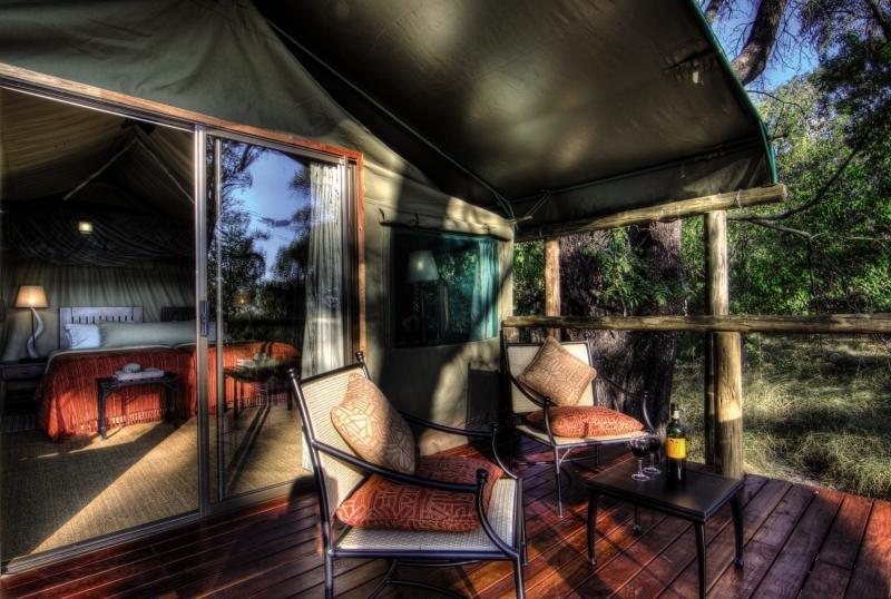 Camp Moremi Lounge/Empfang