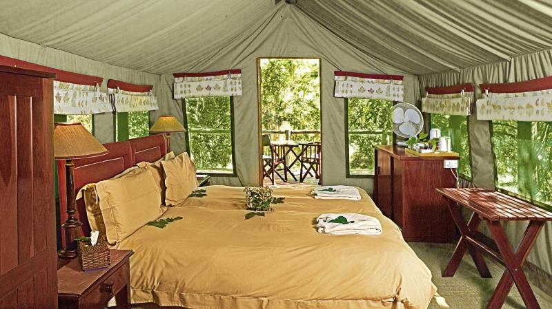 Camp Moremi Wohnbeispiel