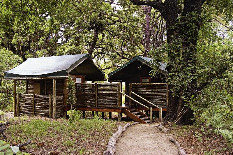 Camp Moremi Außenaufnahme