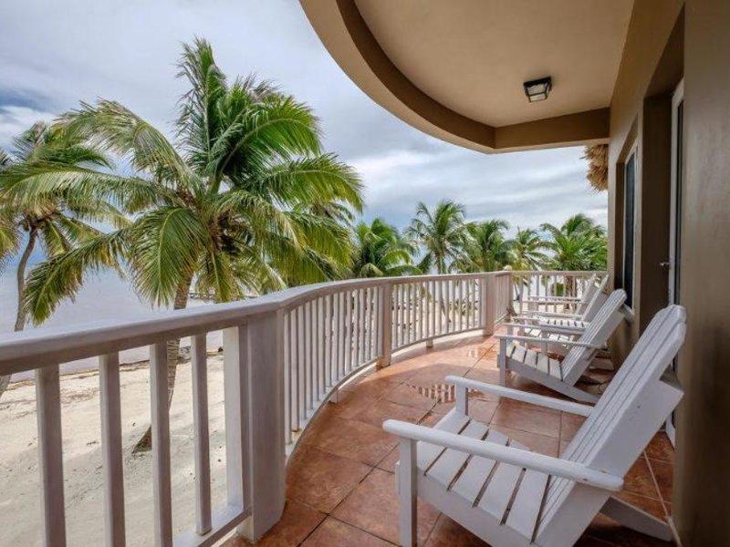 Sapphire Beach Resort Terrasse