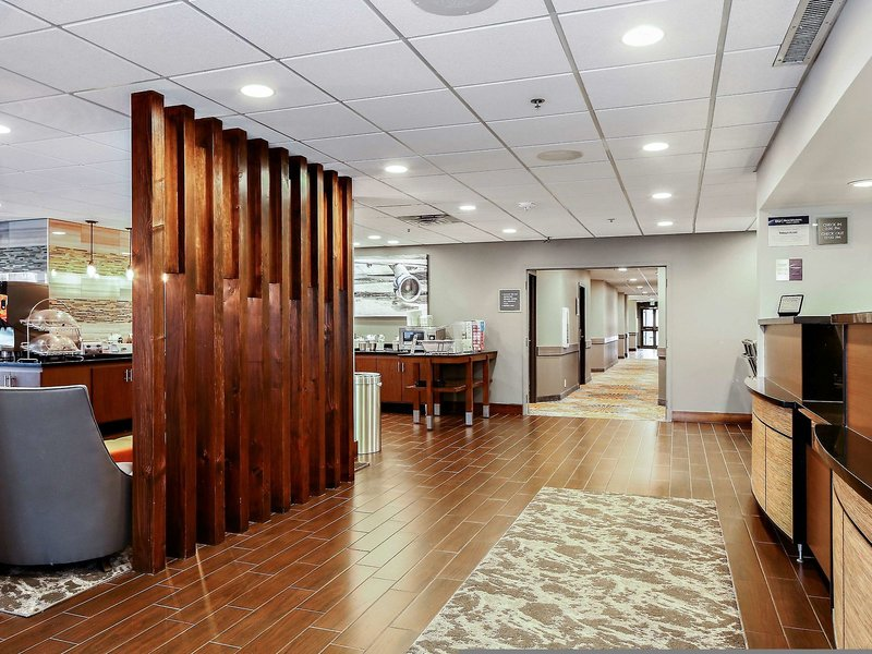 Hampton Inn Bellingham-Airport Lounge/Empfang