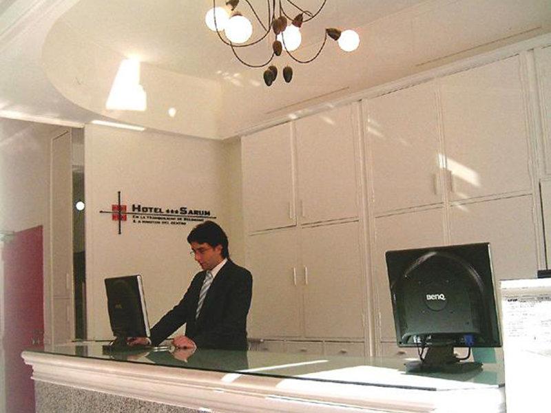 Sarum Hotel Design Lounge/Empfang