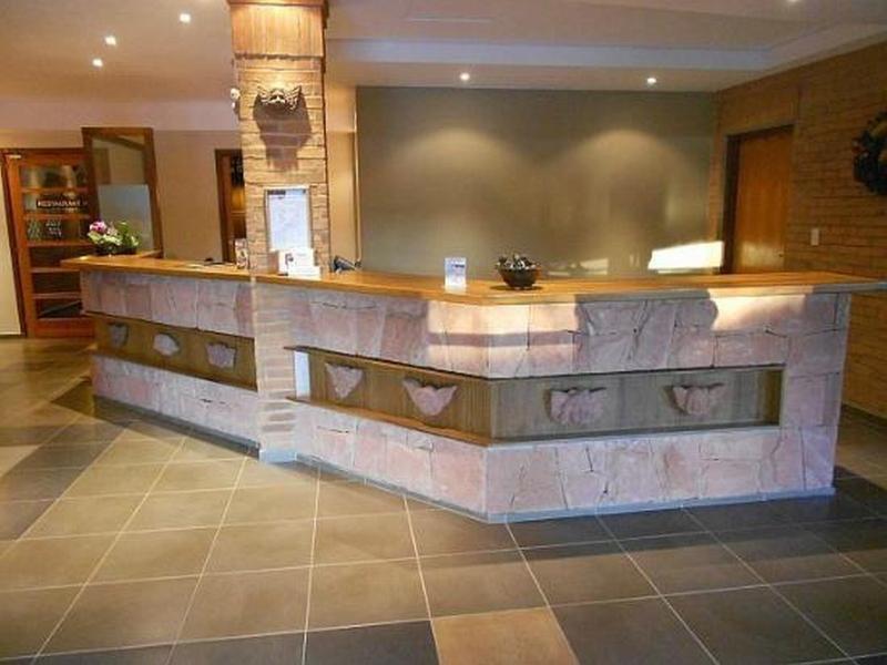 Hotel Restaurant Papillon Lounge/Empfang