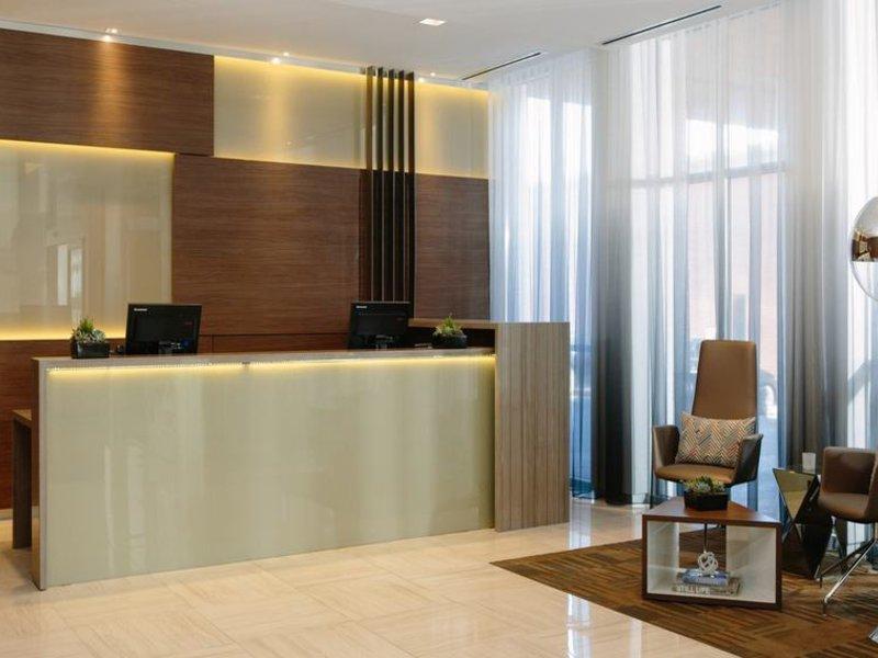 AC Hotels by Marriott Kansas City Westport Lounge/Empfang