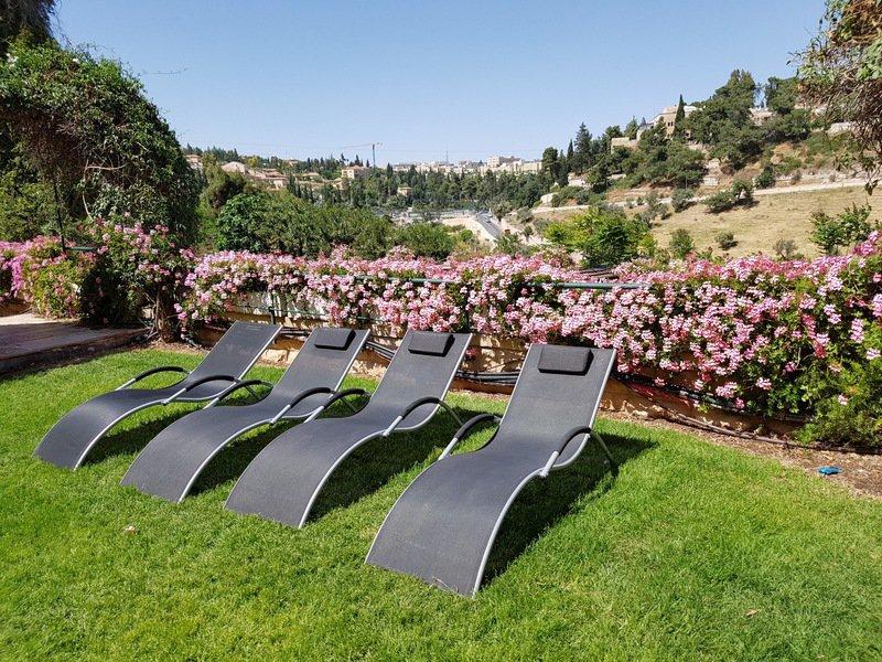 Mount Zion Boutique Hotel Garten