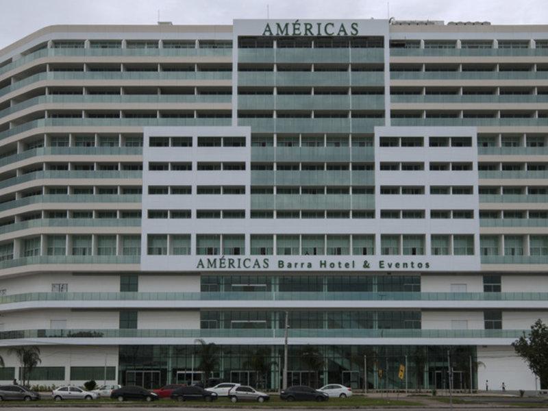 Americas Barra Hotel e Eventos Außenaufnahme