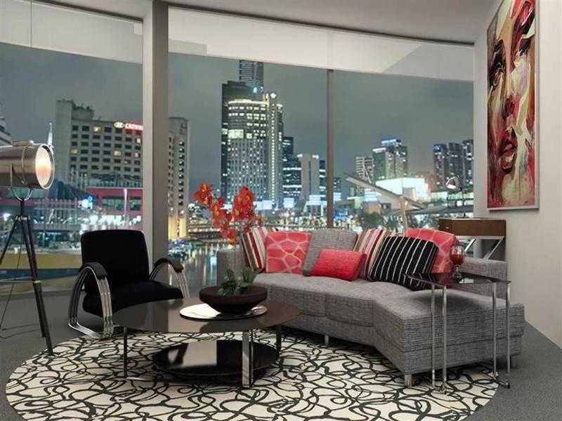 The Sebel Melbourne Docklands Lounge/Empfang
