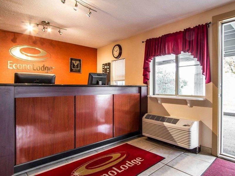 Econo Lodge Freeport Lounge/Empfang