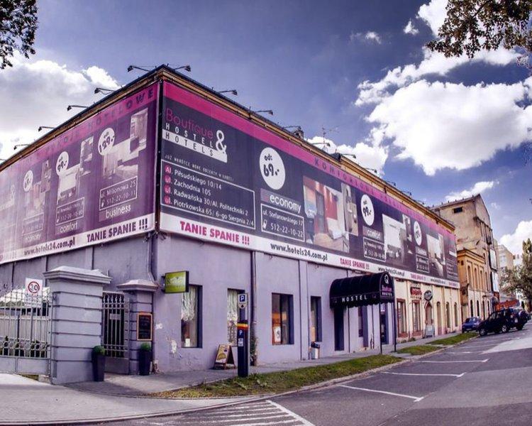Boutique Hostel Lodz Außenaufnahme