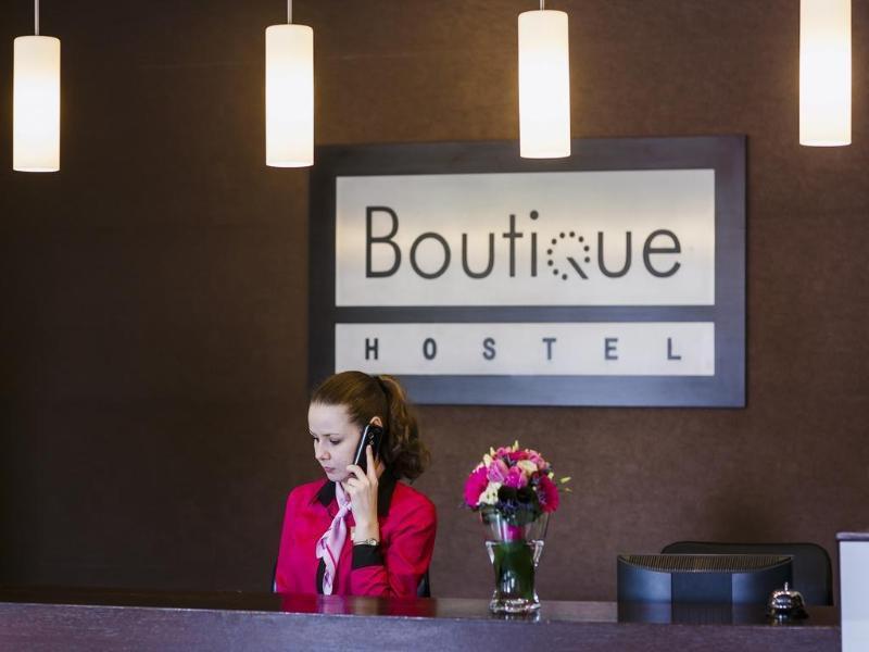 Boutique Hostel Lodz Lounge/Empfang