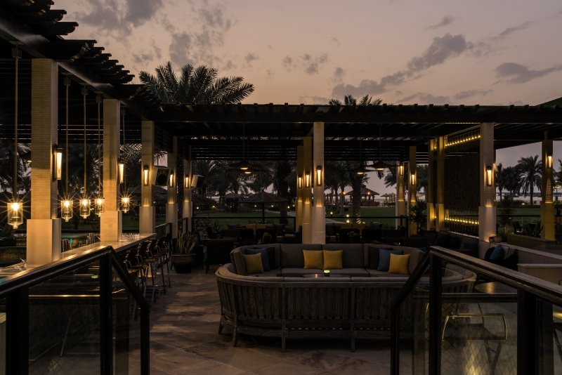 Le Royal Meridien Beach Resort & Spa Terrasse