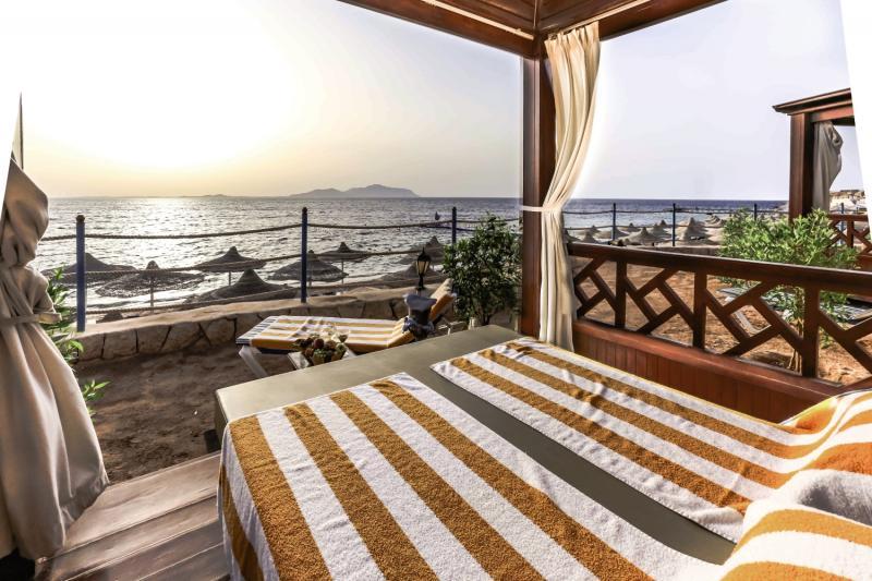 Sultan Gardens Resort Terrasse