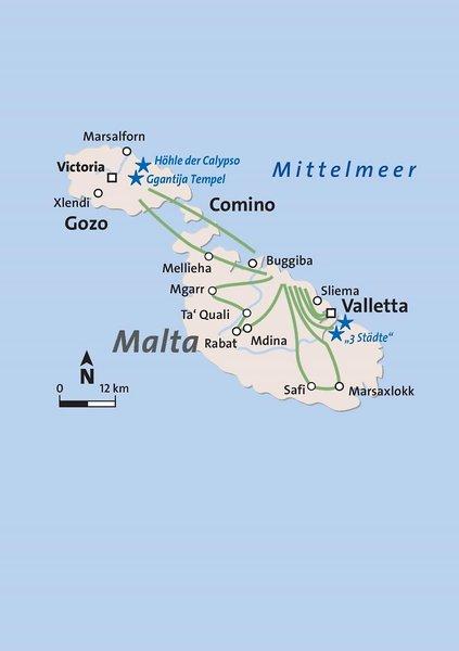 Castille Landkarte
