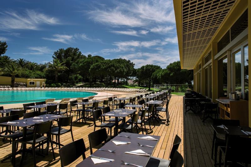 Pestana Delfim Beach & Golf Hotel Terrasse