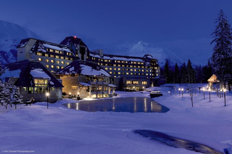 The Hotel Alyeska at Alyeska Resort Außenaufnahme