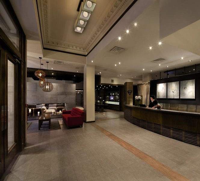 Hotel 71 Lounge/Empfang