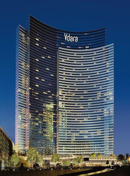 Vdara Hotel & Spa at Aria Las Vegas Außenaufnahme