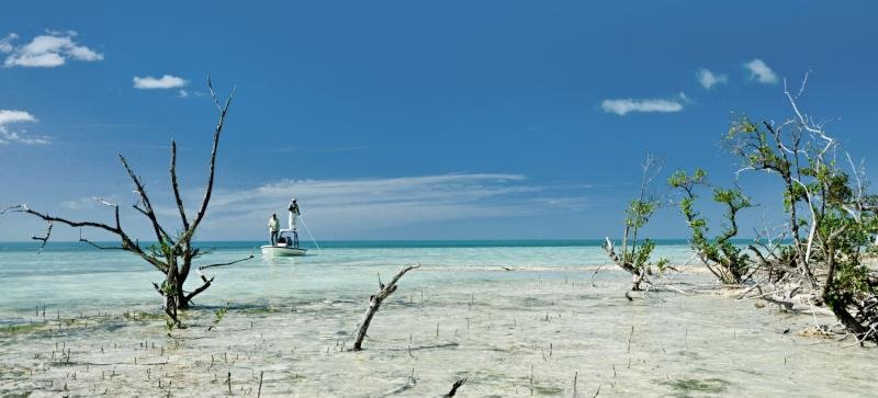 Swain´s Cay Lodge Strand