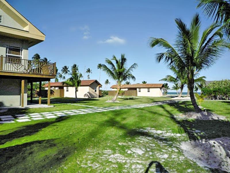 Swain´s Cay Lodge Garten