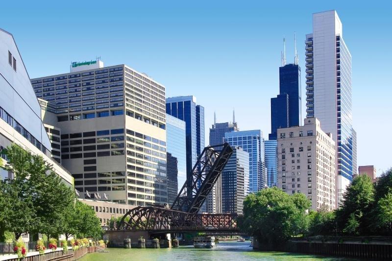 Holiday Inn Chicago Mart Plaza River North Außenaufnahme