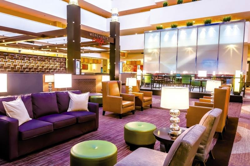 Holiday Inn Chicago Mart Plaza River North Lounge/Empfang