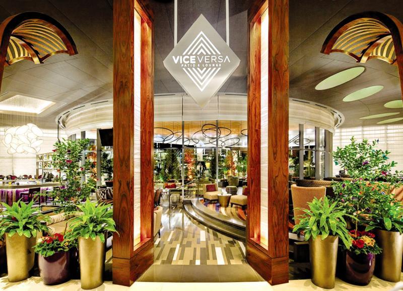 Vdara Hotel & Spa at Aria Las Vegas Lounge/Empfang