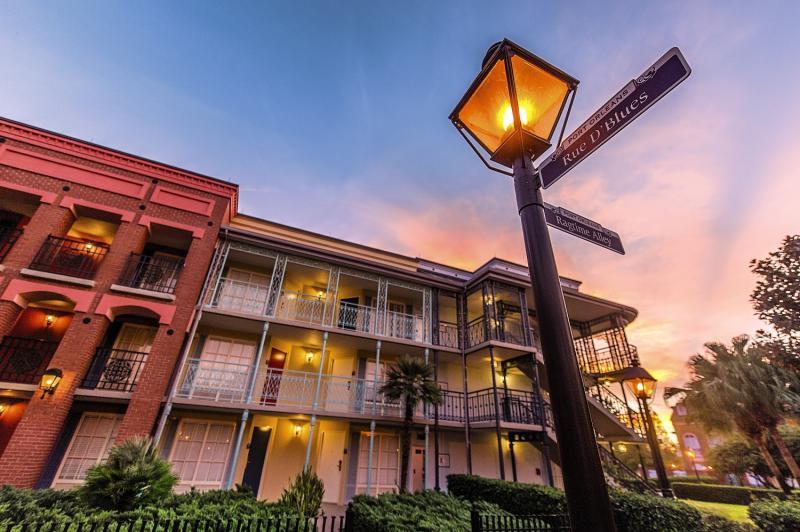 Disney´s Port Orleans Resort - French Quarter Außenaufnahme