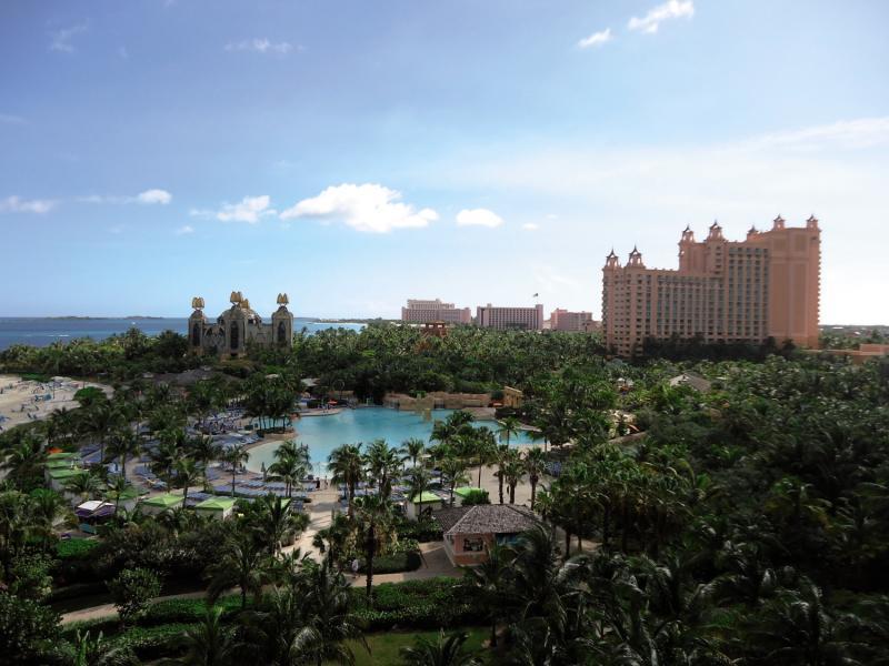 Atlantis Paradise Island Complex Landschaft