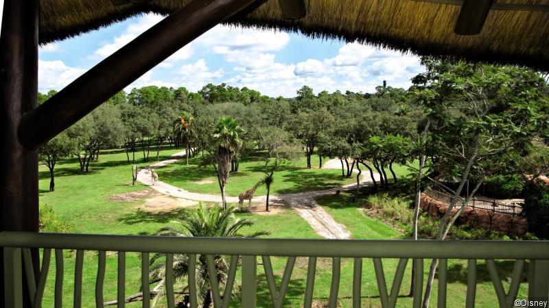 Disney´s Animal Kingdom Lodge Garten
