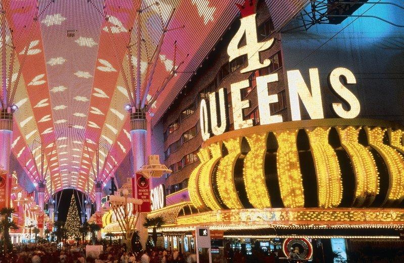 Four Queens & Casino Außenaufnahme