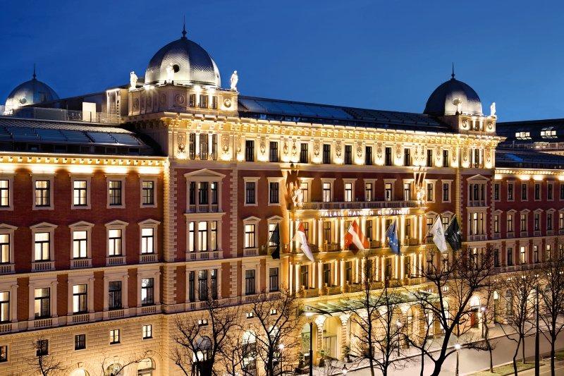 Palais Hansen Kempinski Vienna Außenaufnahme