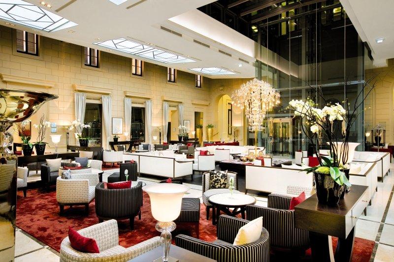 Palais Hansen Kempinski Vienna Lounge/Empfang