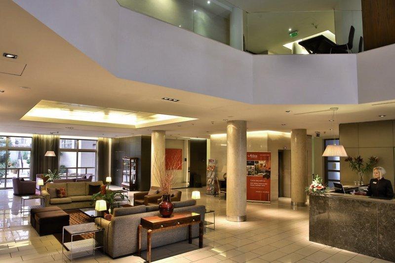 Adina Apartment Hotel Budapest Lounge/Empfang