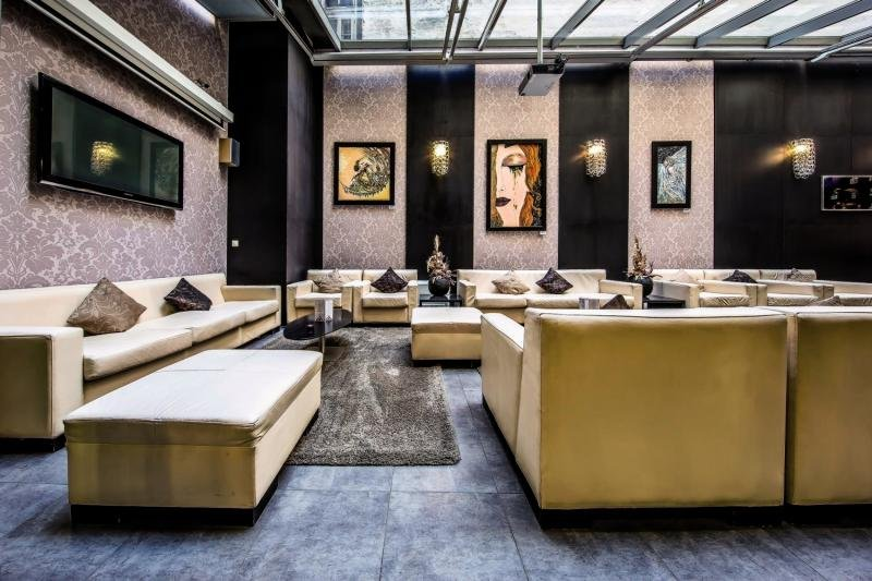 Boutique Hotel Budapest Lounge/Empfang