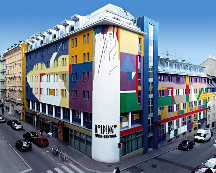 Kolping Wien Zentral Außenaufnahme