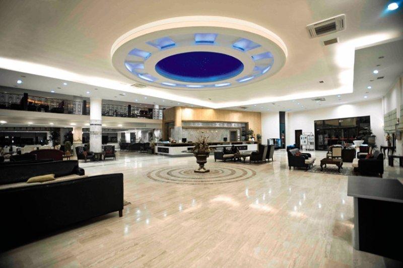 Lyra Resort Lounge/Empfang
