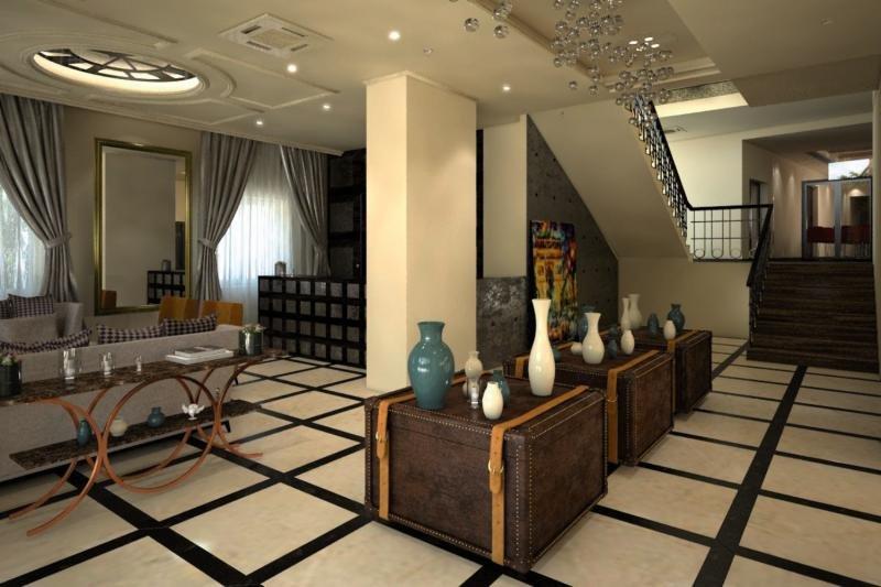 Grand Hotel Slavia Lounge/Empfang