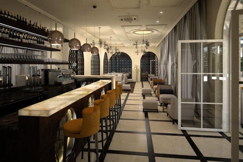 Grand Hotel Slavia Bar