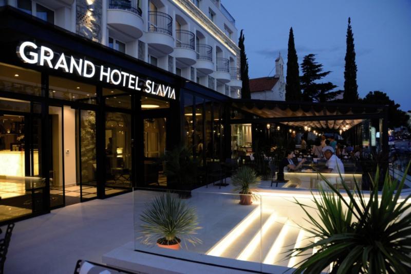Grand Hotel Slavia Außenaufnahme